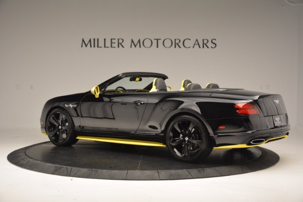 New 2017 Bentley Continental GT Speed Black Edition Convertible for sale Sold at Bentley Greenwich in Greenwich CT 06830 4