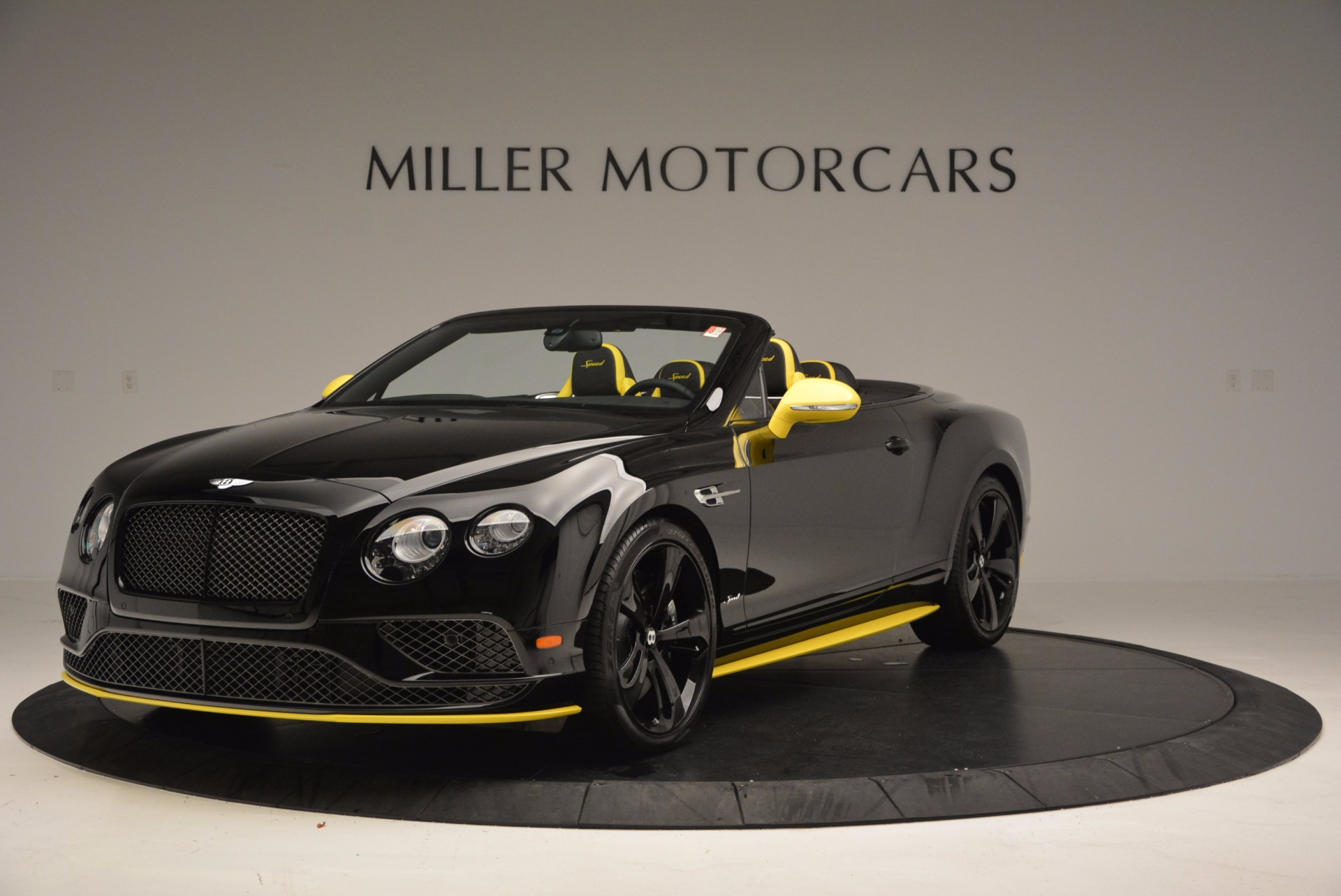 New 2017 Bentley Continental GT Speed Black Edition Convertible for sale Sold at Bentley Greenwich in Greenwich CT 06830 1