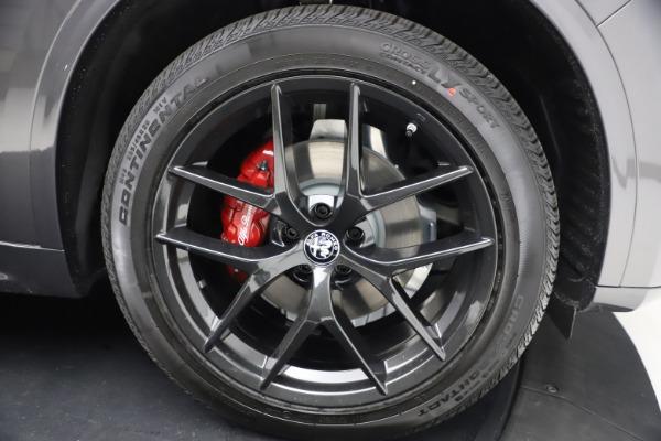 New 2021 Alfa Romeo Stelvio Ti Sport Q4 for sale Sold at Bentley Greenwich in Greenwich CT 06830 26