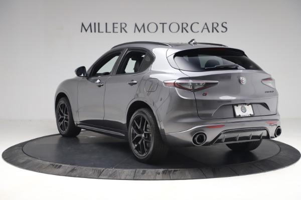 New 2021 Alfa Romeo Stelvio Ti Sport Q4 for sale Sold at Bentley Greenwich in Greenwich CT 06830 5