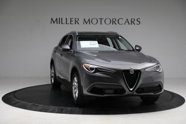 New 2021 Alfa Romeo Stelvio Q4 for sale $50,445 at Bentley Greenwich in Greenwich CT 06830 11