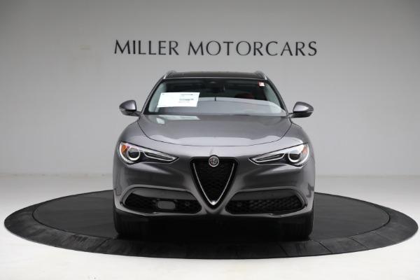New 2021 Alfa Romeo Stelvio Q4 for sale $50,445 at Bentley Greenwich in Greenwich CT 06830 12