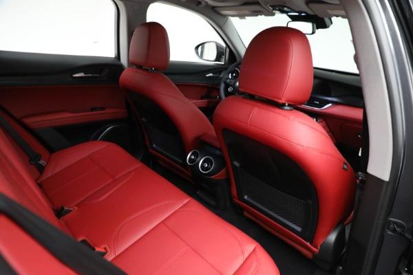 New 2021 Alfa Romeo Stelvio Q4 for sale $50,445 at Bentley Greenwich in Greenwich CT 06830 21