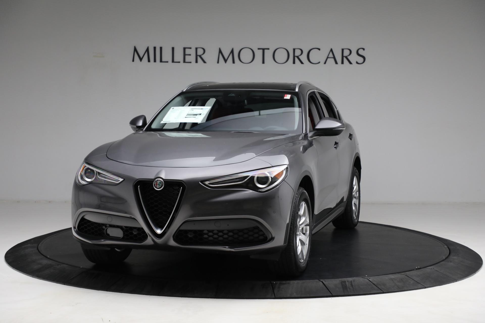 New 2021 Alfa Romeo Stelvio Q4 for sale $50,445 at Bentley Greenwich in Greenwich CT 06830 1