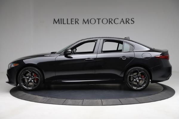 New 2021 Alfa Romeo Giulia Ti Sport Q4 for sale Sold at Bentley Greenwich in Greenwich CT 06830 4