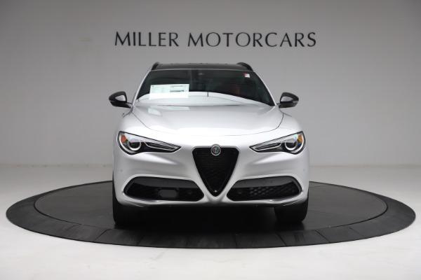 New 2021 Alfa Romeo Stelvio Ti Sport Q4 for sale $57,200 at Bentley Greenwich in Greenwich CT 06830 13