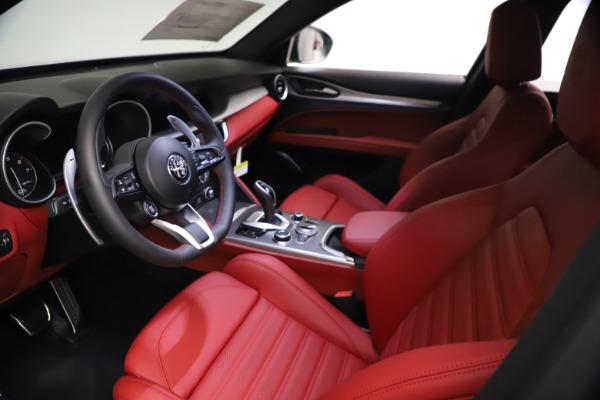 New 2021 Alfa Romeo Stelvio Ti Sport Q4 for sale $57,200 at Bentley Greenwich in Greenwich CT 06830 14