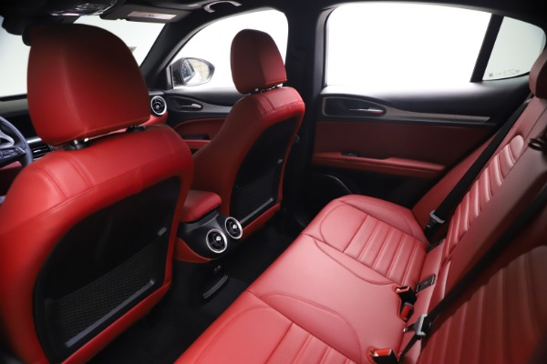New 2021 Alfa Romeo Stelvio Ti Sport Q4 for sale $57,200 at Bentley Greenwich in Greenwich CT 06830 18