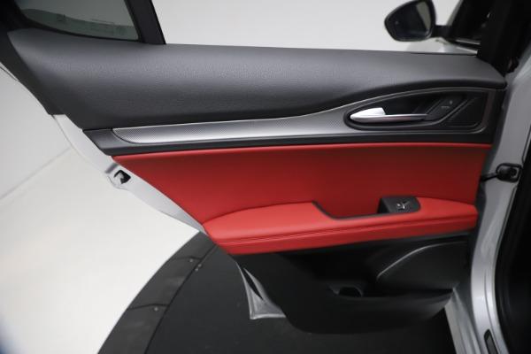 New 2021 Alfa Romeo Stelvio Ti Sport Q4 for sale $57,200 at Bentley Greenwich in Greenwich CT 06830 20