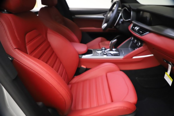 New 2021 Alfa Romeo Stelvio Ti Sport Q4 for sale $57,200 at Bentley Greenwich in Greenwich CT 06830 22