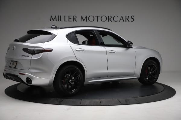 New 2021 Alfa Romeo Stelvio Ti Sport Q4 for sale $57,200 at Bentley Greenwich in Greenwich CT 06830 8