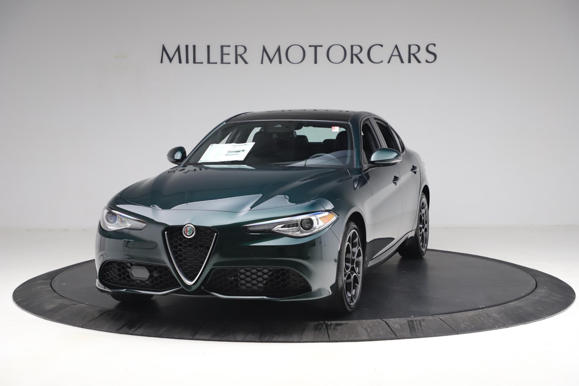 New 2021 Alfa Romeo Giulia Ti Sport Q4 for sale $53,050 at Bentley Greenwich in Greenwich CT 06830 1