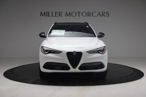 New 2021 Alfa Romeo Stelvio Ti Sport Q4 for sale $54,095 at Bentley Greenwich in Greenwich CT 06830 13