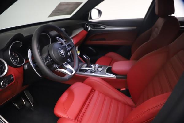 New 2021 Alfa Romeo Stelvio Ti Sport Q4 for sale $54,095 at Bentley Greenwich in Greenwich CT 06830 14