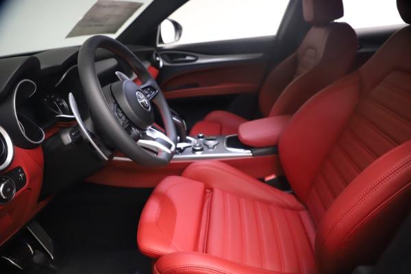 New 2021 Alfa Romeo Stelvio Ti Sport Q4 for sale $54,095 at Bentley Greenwich in Greenwich CT 06830 15