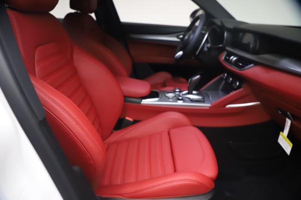 New 2021 Alfa Romeo Stelvio Ti Sport Q4 for sale $54,095 at Bentley Greenwich in Greenwich CT 06830 23
