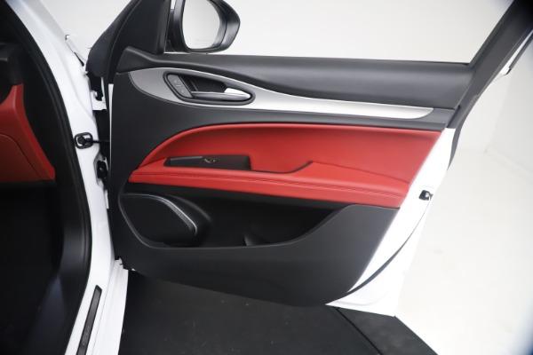 New 2021 Alfa Romeo Stelvio Ti Sport Q4 for sale $54,095 at Bentley Greenwich in Greenwich CT 06830 24