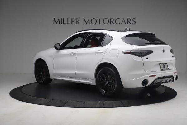 New 2021 Alfa Romeo Stelvio Ti Sport Q4 for sale $54,095 at Bentley Greenwich in Greenwich CT 06830 5