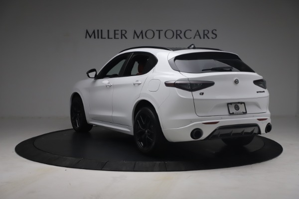 New 2021 Alfa Romeo Stelvio Ti Sport Q4 for sale $54,095 at Bentley Greenwich in Greenwich CT 06830 6