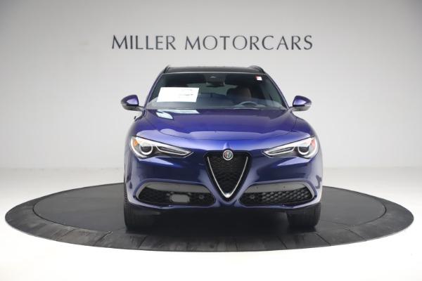 New 2021 Alfa Romeo Stelvio Ti Sport Q4 for sale $55,700 at Bentley Greenwich in Greenwich CT 06830 12