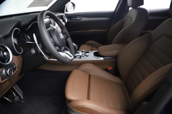 New 2021 Alfa Romeo Stelvio Ti Sport Q4 for sale $55,700 at Bentley Greenwich in Greenwich CT 06830 13