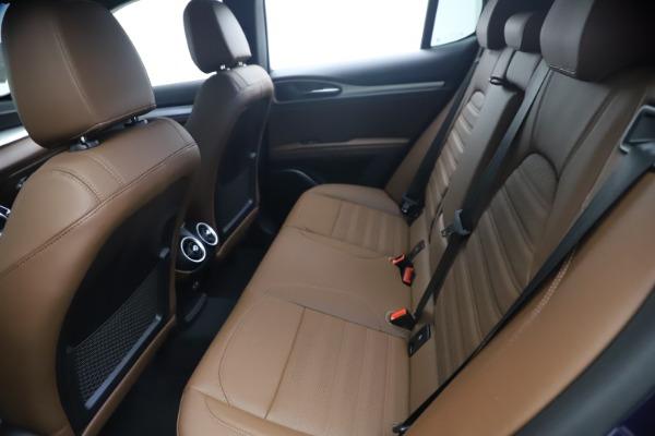 New 2021 Alfa Romeo Stelvio Ti Sport Q4 for sale $55,700 at Bentley Greenwich in Greenwich CT 06830 17
