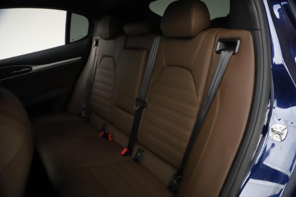 New 2021 Alfa Romeo Stelvio Ti Sport Q4 for sale $55,700 at Bentley Greenwich in Greenwich CT 06830 18