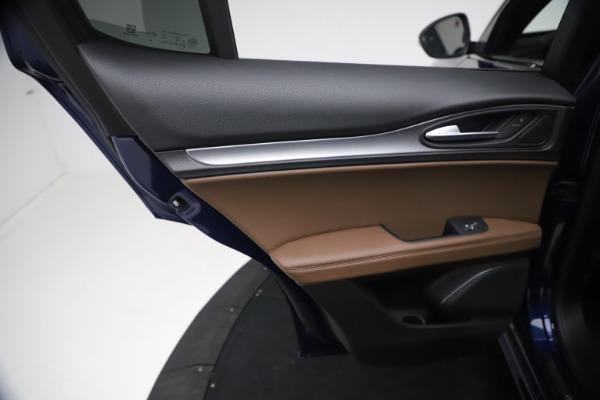 New 2021 Alfa Romeo Stelvio Ti Sport Q4 for sale $55,700 at Bentley Greenwich in Greenwich CT 06830 19