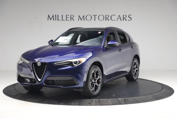 New 2021 Alfa Romeo Stelvio Ti Sport Q4 for sale $55,700 at Bentley Greenwich in Greenwich CT 06830 2