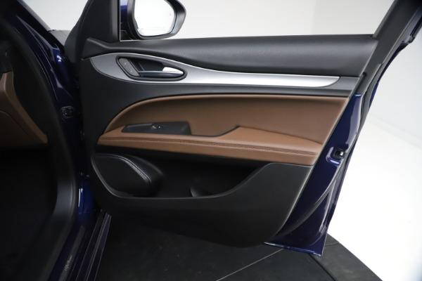New 2021 Alfa Romeo Stelvio Ti Sport Q4 for sale $55,700 at Bentley Greenwich in Greenwich CT 06830 22