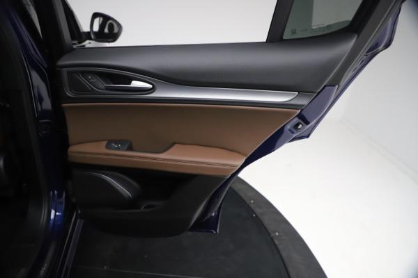 New 2021 Alfa Romeo Stelvio Ti Sport Q4 for sale $55,700 at Bentley Greenwich in Greenwich CT 06830 25