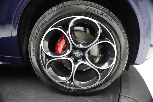 New 2021 Alfa Romeo Stelvio Ti Sport Q4 for sale $55,700 at Bentley Greenwich in Greenwich CT 06830 26