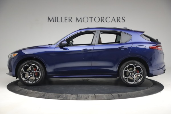New 2021 Alfa Romeo Stelvio Ti Sport Q4 for sale $55,700 at Bentley Greenwich in Greenwich CT 06830 3