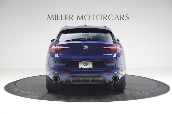 New 2021 Alfa Romeo Stelvio Ti Sport Q4 for sale $55,700 at Bentley Greenwich in Greenwich CT 06830 6
