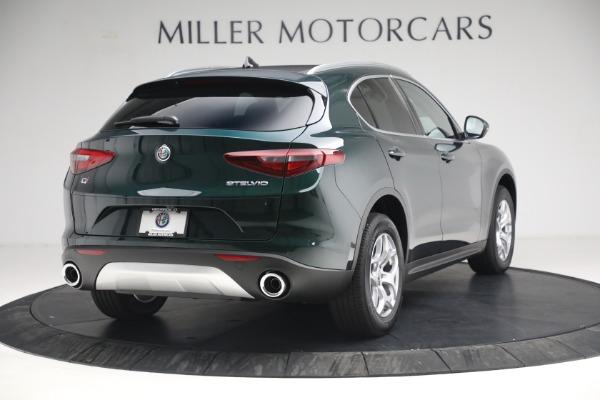 New 2021 Alfa Romeo Stelvio Q4 for sale $50,445 at Bentley Greenwich in Greenwich CT 06830 7