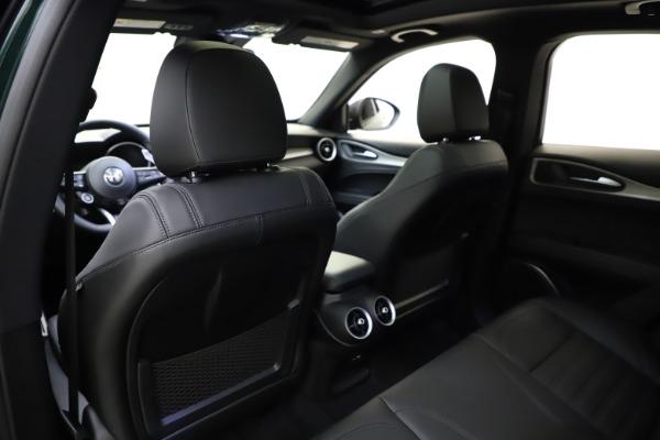 New 2021 Alfa Romeo Stelvio Ti Sport Q4 for sale $57,200 at Bentley Greenwich in Greenwich CT 06830 21