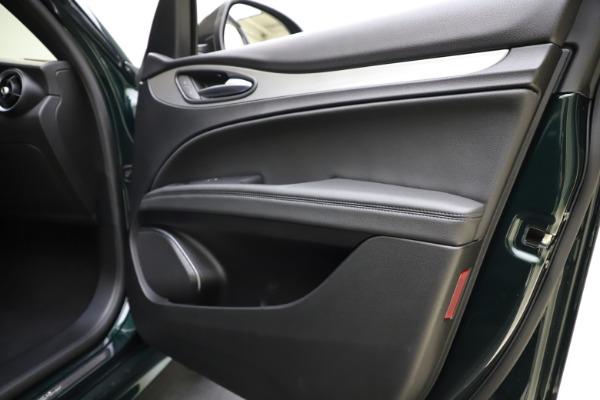 New 2021 Alfa Romeo Stelvio Ti Sport Q4 for sale $57,200 at Bentley Greenwich in Greenwich CT 06830 26