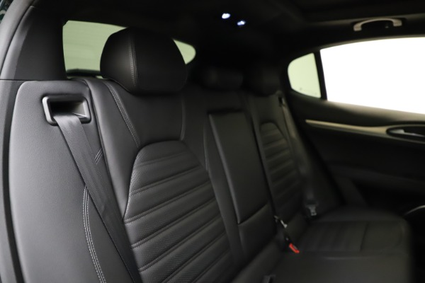 New 2021 Alfa Romeo Stelvio Ti Sport Q4 for sale $57,200 at Bentley Greenwich in Greenwich CT 06830 27
