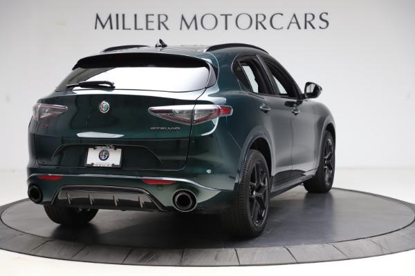 New 2021 Alfa Romeo Stelvio Ti Sport Q4 for sale $57,200 at Bentley Greenwich in Greenwich CT 06830 7