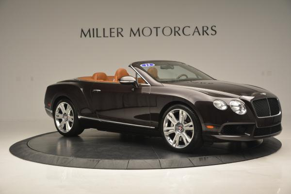 Used 2013 Bentley Continental GTC V8 for sale Sold at Bentley Greenwich in Greenwich CT 06830 10
