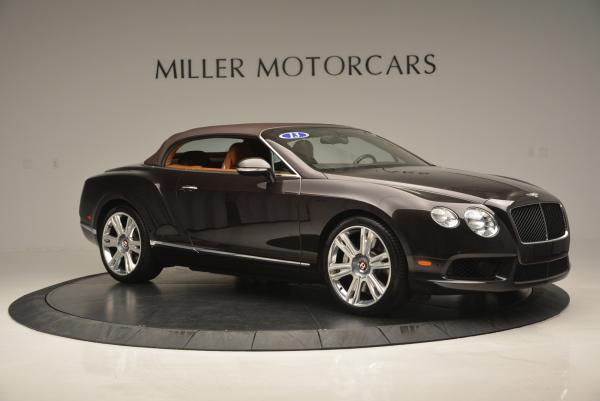 Used 2013 Bentley Continental GTC V8 for sale Sold at Bentley Greenwich in Greenwich CT 06830 23