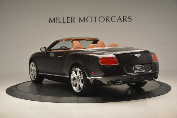 Used 2013 Bentley Continental GTC V8 for sale Sold at Bentley Greenwich in Greenwich CT 06830 5