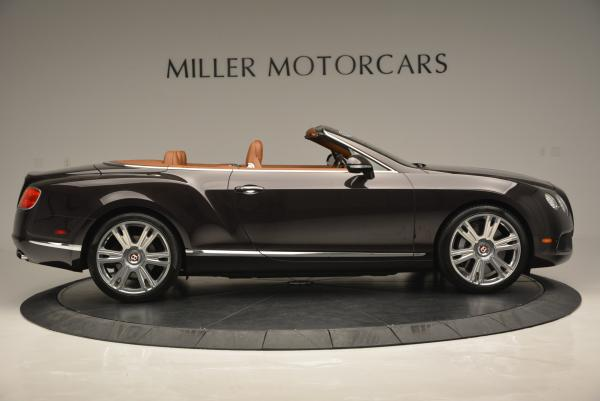 Used 2013 Bentley Continental GTC V8 for sale Sold at Bentley Greenwich in Greenwich CT 06830 9
