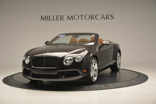 Used 2013 Bentley Continental GTC V8 for sale Sold at Bentley Greenwich in Greenwich CT 06830 1