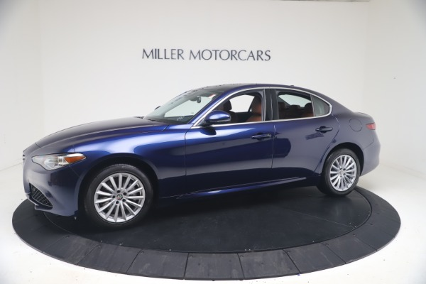 New 2021 Alfa Romeo Giulia Q4 for sale Call for price at Bentley Greenwich in Greenwich CT 06830 2