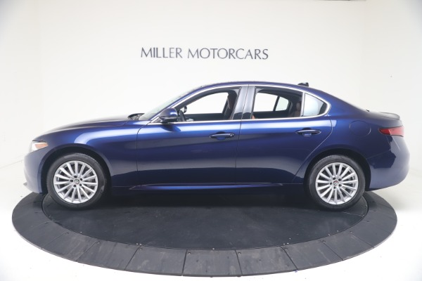 New 2021 Alfa Romeo Giulia Q4 for sale Call for price at Bentley Greenwich in Greenwich CT 06830 3