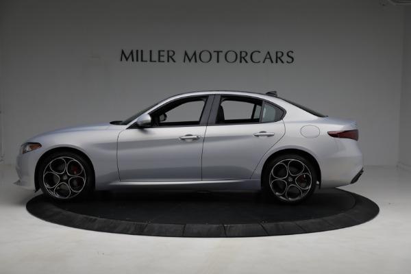 New 2021 Alfa Romeo Giulia Ti Sport Q4 for sale $53,050 at Bentley Greenwich in Greenwich CT 06830 2