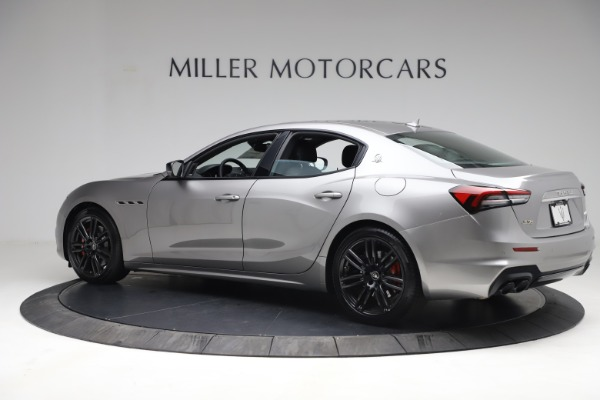 New 2021 Maserati Ghibli S Q4 for sale $90,075 at Bentley Greenwich in Greenwich CT 06830 4