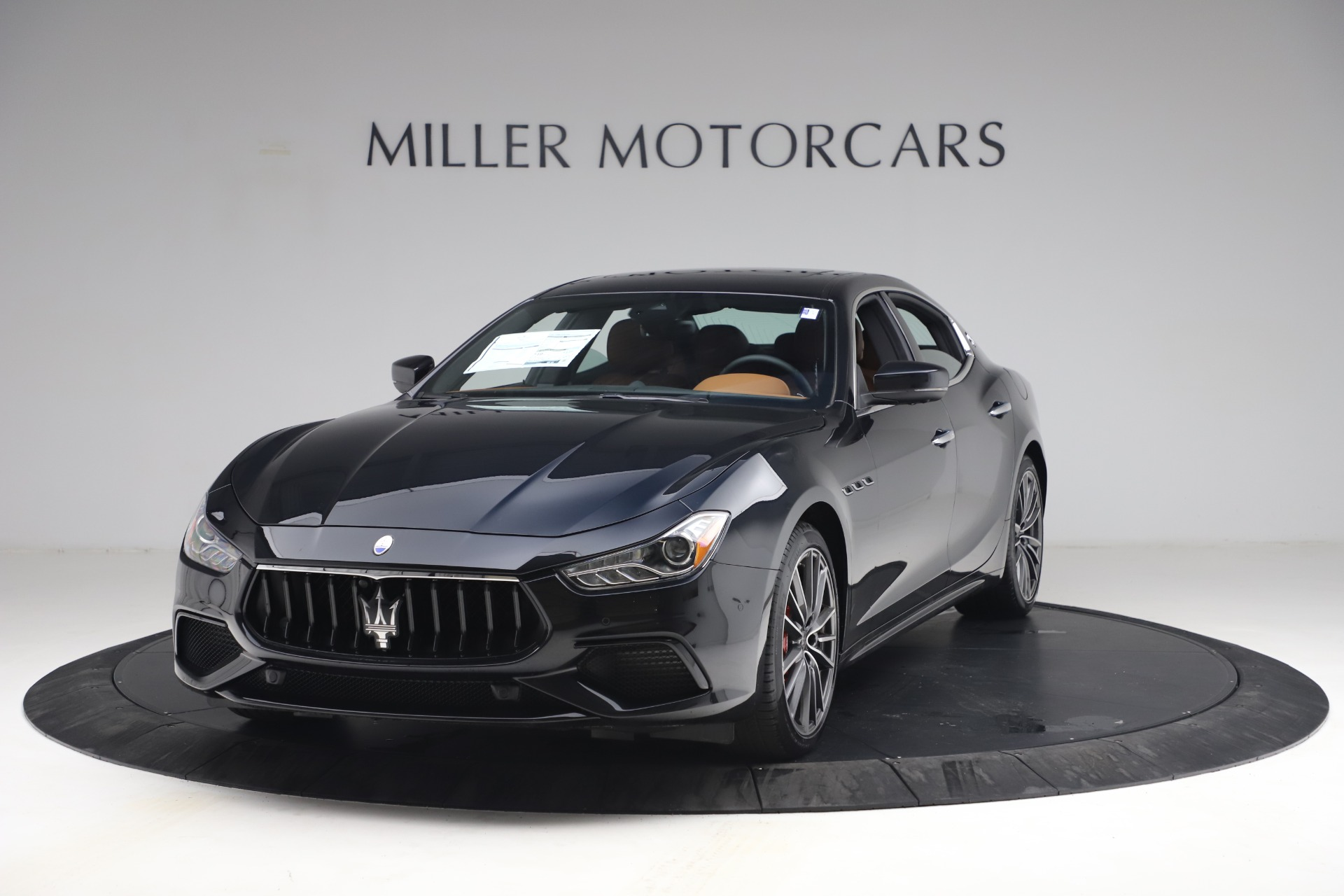 New 2021 Maserati Ghibli S Q4 for sale $90,675 at Bentley Greenwich in Greenwich CT 06830 1