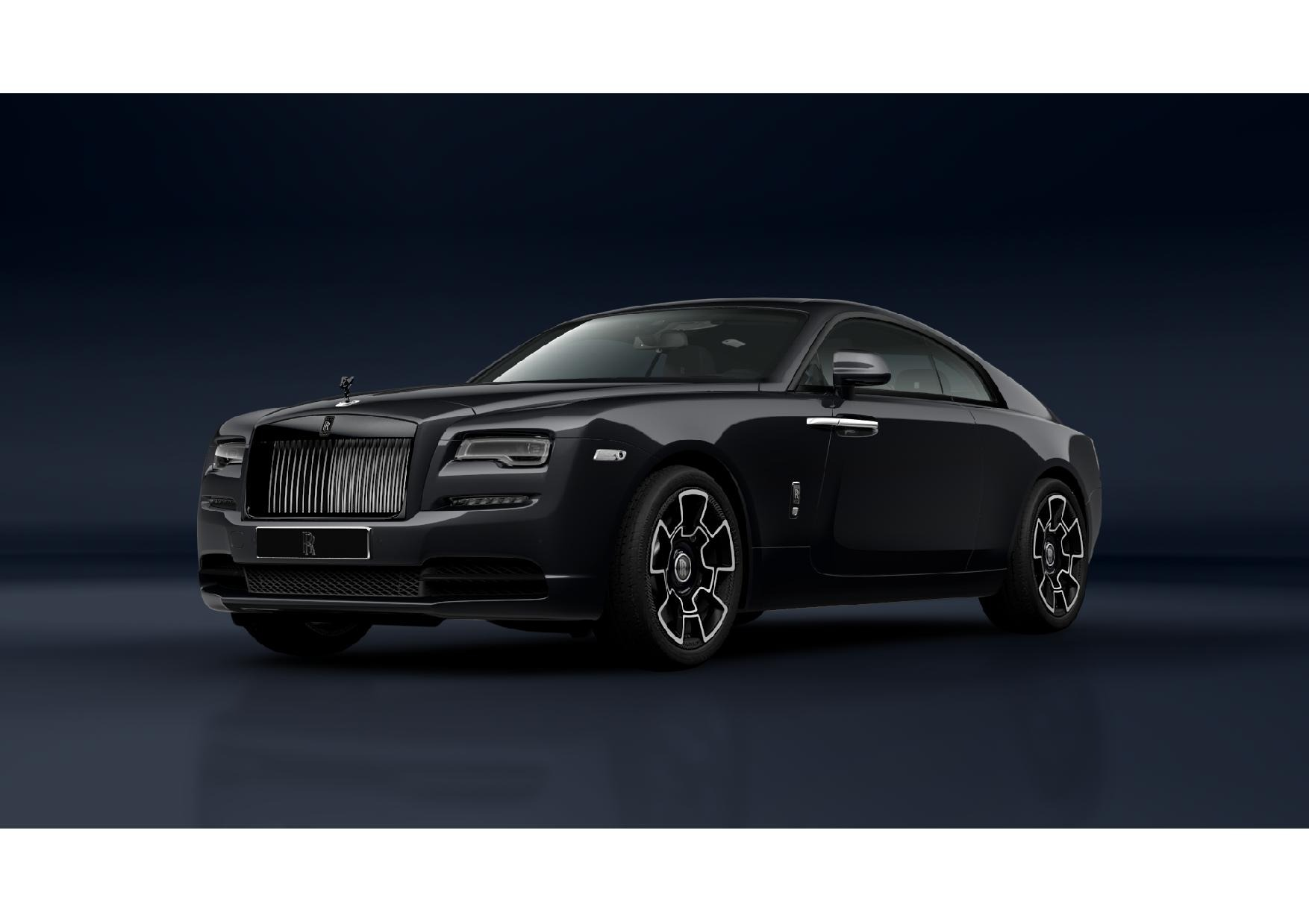 New 2021 Rolls-Royce Wraith Black Badge for sale Call for price at Bentley Greenwich in Greenwich CT 06830 1